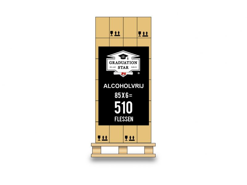 Pallet 510 flessen GRADUATION STAR® alcoholvrij